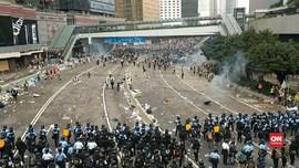 VIDEO: Rusuh Demo RUU Ekstradisi Hong Kong Disebut Terencana