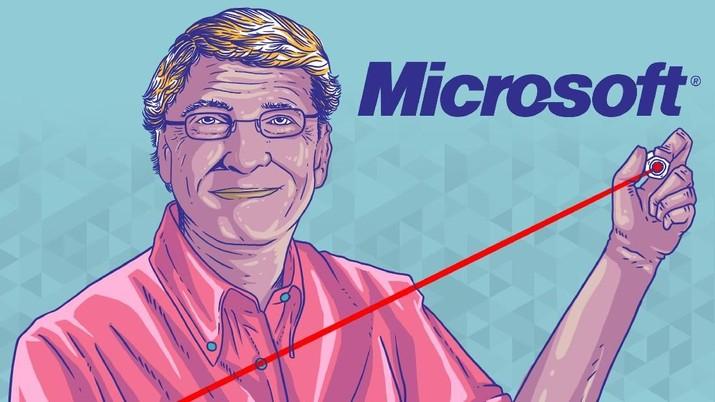 Jika Tak Ditolong Bill Gates, Tak Ada Apple iPhone Hari ini