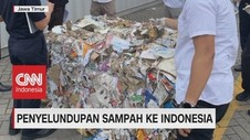 VIDEO: Penyelundupan Sampah ke Indonesia