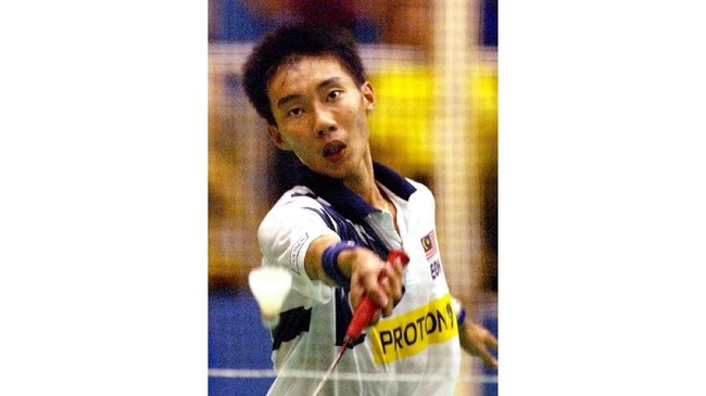 Lee Chong Wei sudah disebut sebagai pebulutangkis berbakat sejak awal kemunculannya. (Mohd RASFAN/AFP)