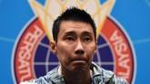 Lee Chong Wei mengumumkan ia absen dari sejumlah turnamen karena menderita kanker hidung di 2018. (Mohd RASFAN / AFP)