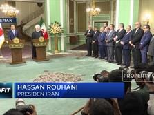 Pertemuan Bilateral Rouhani - Abe