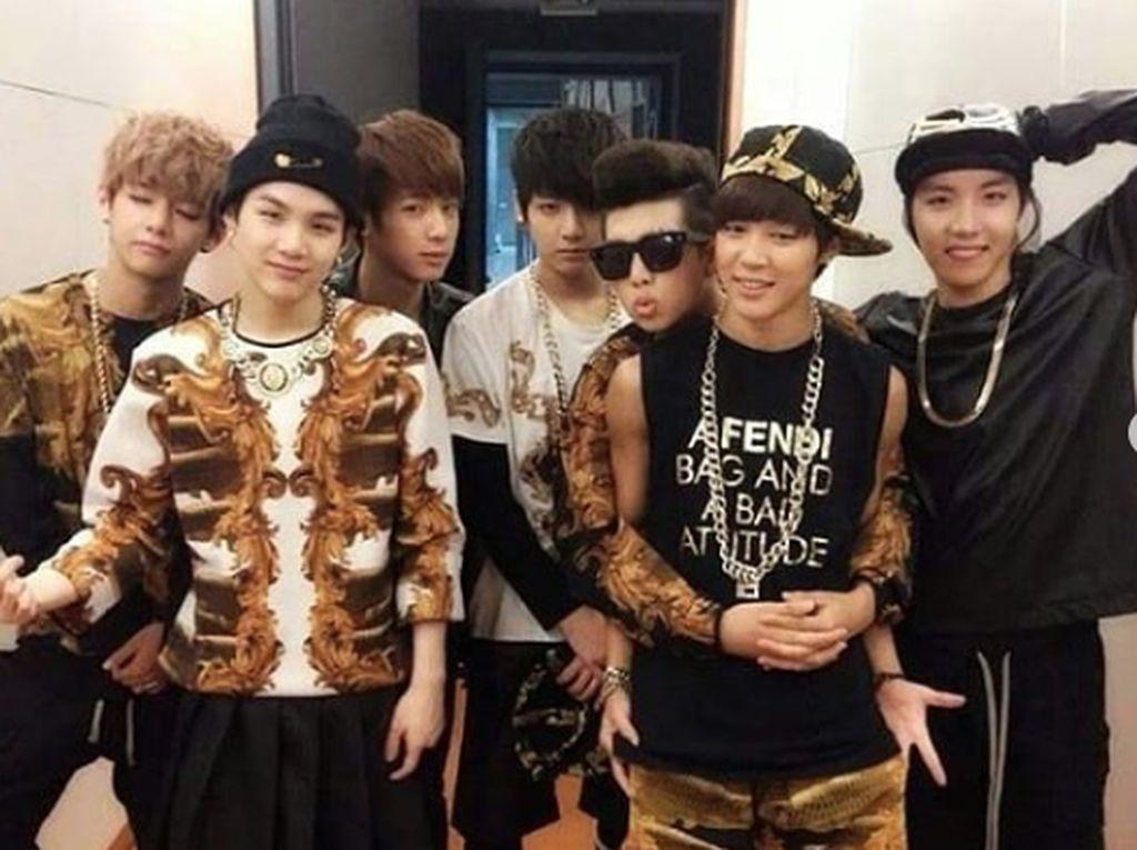 Saat itu BTS debut dengan merilis lagu No More Dreams. Dok. Instagram