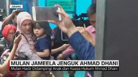 VIDEO: Mulan Jameela Jenguk Ahmad Dhani
