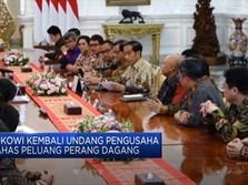 Bahas Perang Dagang, Jokowi Undang Pengusaha