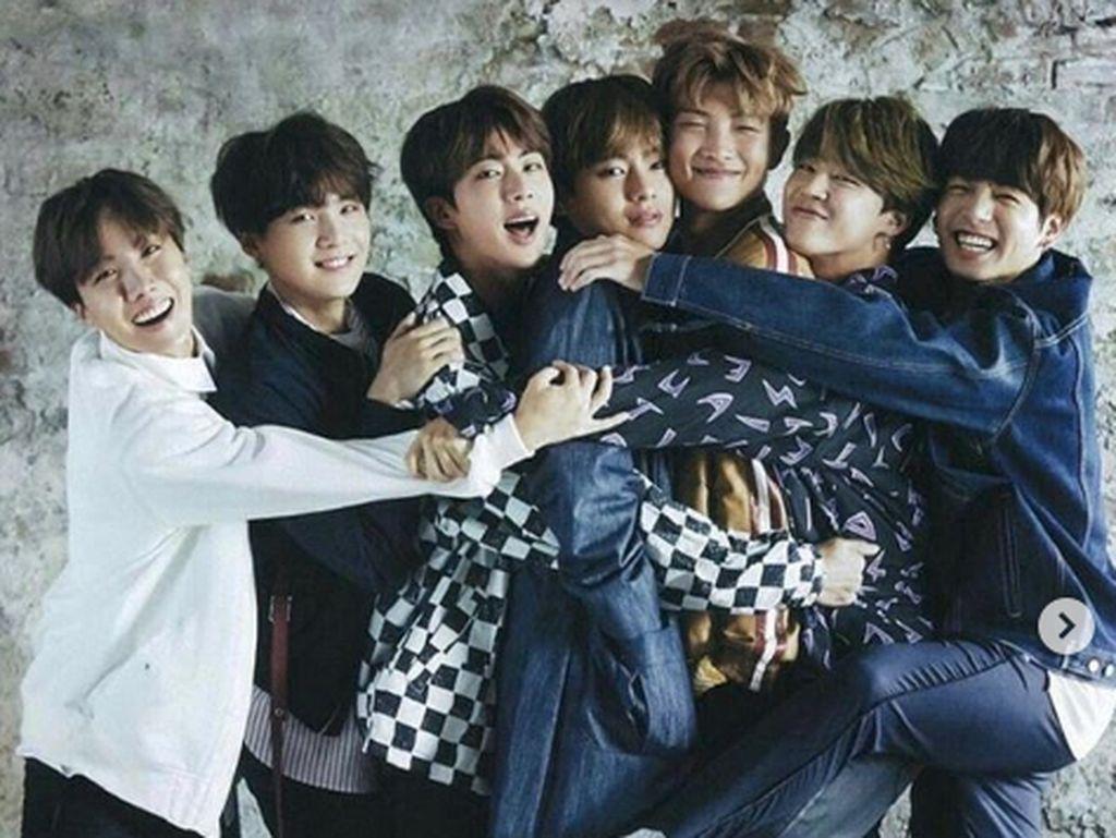 Bangtan Boys atau BTS pun mulai dilirik pada tahun 2016 lalu. Dok. Instagram