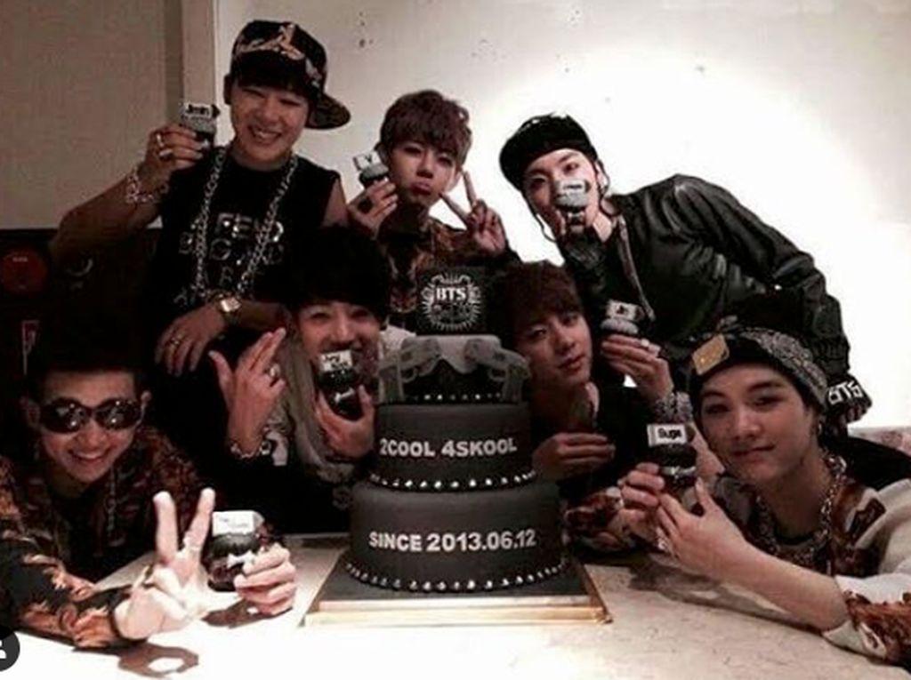 Mereka pun sempat merayakannya sehari sebelum melakukan debut.Dok. Instagram