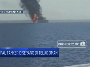 Kapal Tanker Jepang Diserang di Teluk Oman