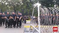 Polisi Belum Berencana Tambah Personel Pengamanan di MK
