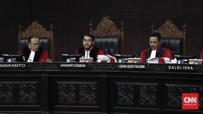 Perdebatan soal Berkas PHPU Prabowo Jadi Kewenangan Hakim MK