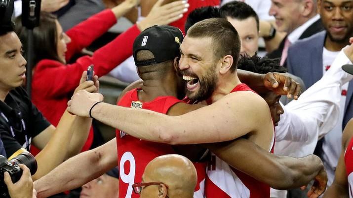 Sejarah! Duo Gasol Jadi Kakak-Adik Pertama Bertitel Juara NBA