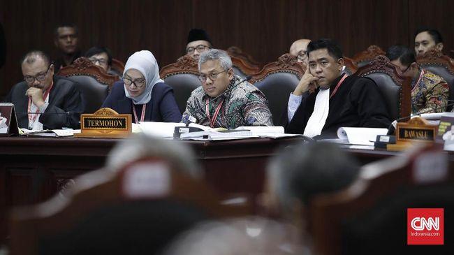 Sidang Pilpres, KPU Tolak Perbaikan Permohonan Prabowo