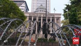 Sidang PHPU Pilpres, Jakarta Pusat Sekitar MK Padat Merayap