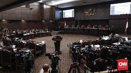 MK Dengarkan Jawaban KPU dan Tim Hukum Jokowi-Ma'ruf Pagi Ini