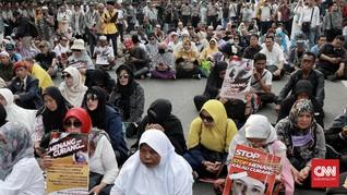 Rombongan Relawan Prabowo Bergerak dari Jatim ke Jakarta