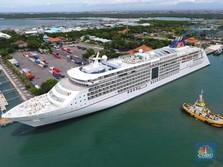 75 Kapal Pesiar Merapat di Bali, Pelabuhan Benoa Diperluas