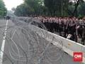 Pengamanan di MK Ketat, Ribuan Aparat Gelar Pasukan