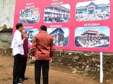 Jokowi Pastikan Wajah Pasar Sukawati Berubah di 2020