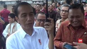 VIDEO: Senyum Jokowi Tanggapi Sidang Gugatan Pilpres 2019