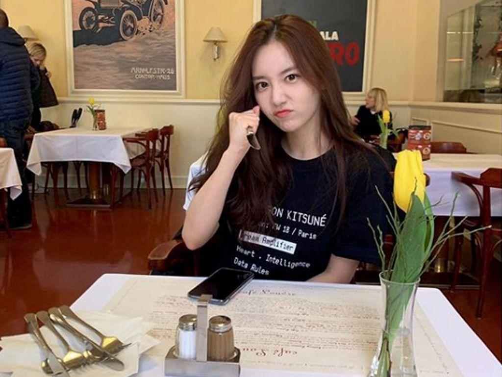 Selain itu Han Seo Hee juga mengaku mendapatkan ancaman.Dok. Instagram/hxxsxxhee