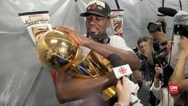 VIDEO: Pesta Toronto Raptors Usai Juara NBA 2019
