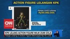 VIDEO: KPK Lelang Action Figure Milik Zumi Zola
