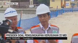 VIDEO: Respon Presiden Soal Pengungkapan Kerusuhan Mei