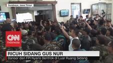VIDEO: Ricuh Sidang Gus Nur, Banser & FPI Nyaris Bentrok