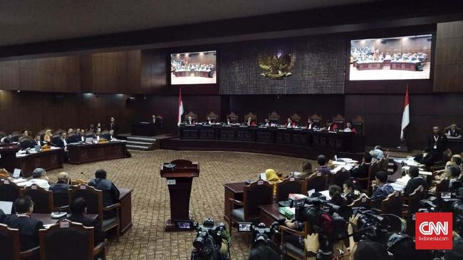 Tutup Sidang Perdana Pilpres, MK Akan Sidang Lanjutan Selasa