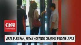VIDEO: Viral Plesiran, Setya Novanto Disanksi Pindah Lapas