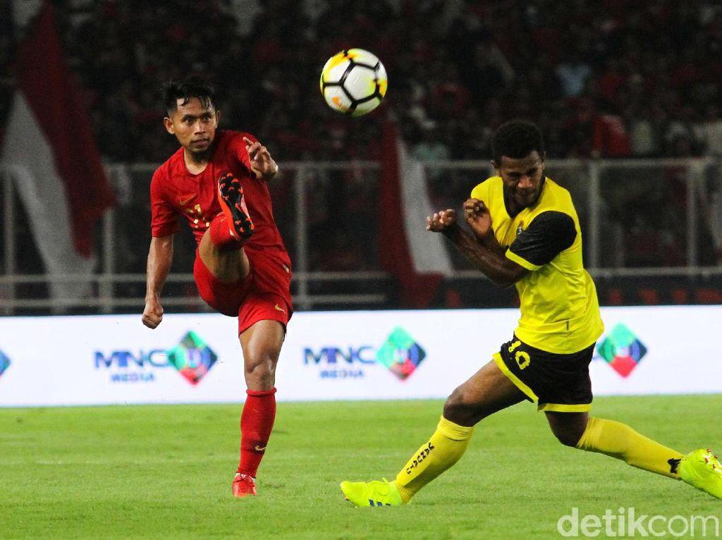 Di babak kedua, Alberto Goncalves menambah 3 gol sementara Evan Dimas menutup kemenangan Indonesia menjadi 6-0.