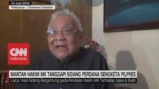 VIDEO: Mantan Hakim MK: Hormati Putusan Majelis Hakim