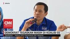 VIDEO: Demokrat Tegaskan Masih di Koalisi 02