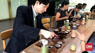 Menjajal Upacara Minum Teh ala Negeri Ginseng