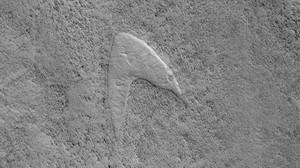 NASA Temukan Logo Star Trek di Permukaan Mars
