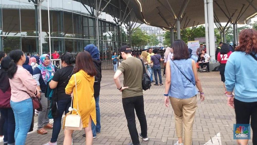 Boyband Kpop Super Junior akan menggelar konser di ICE, BSD, Tangerang Selatan, Banten, Sabtu (15/6/2019).