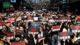 Ratusan Warga Hong Kong Masih Demo Protes RUU Ekstradisi