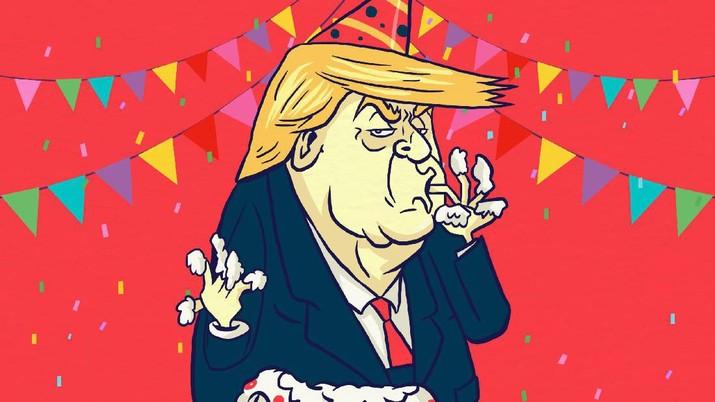 Trump Kembali Serang The Fed, Ungkap Bunga 0% di Jerman