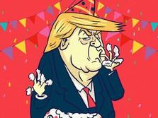 Donald Trump, Presiden AS & Taipan Properti Berharta Rp 44 T