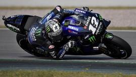 Maverick Vinales Tercepat di Sesi Tes MotoGP