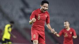 Evan Dimas Ingin Jadi Senior Hebat di Timnas Indonesia U-23