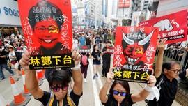 Mahasiswa Tak Puas Klaim RUU Ekstradisi Hong Kong 'Mati'