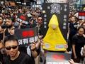 Penduduk Hong Kong Kembali Demo Desak Pemimpin Mundur