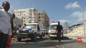 VIDEO: Belasan Tewas akibat Ledakan Bom di Somalia