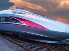 Keren, Mewahnya Kereta Cepat China Rute Jakarta-Bandung