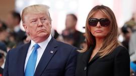 Alasan 'Pilu' di Balik Kacamata Hitam Melania Trump