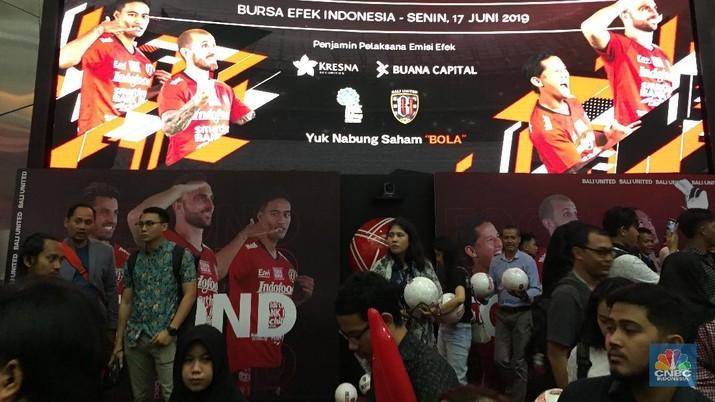 Ipo Bali United (CNBC Indonesia/Monica Wareza)