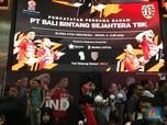 'Terbang' Nyaris 126%, Masihkah Saham Bali United Kuat Naik?