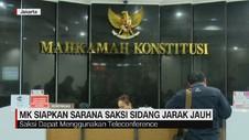 VIDEO: MK Siapkan Sarana Saksi Sidang Jarak Jauh