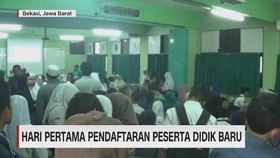VIDEO: Hari Pertama Pendaftaran Peserta Didik Baru